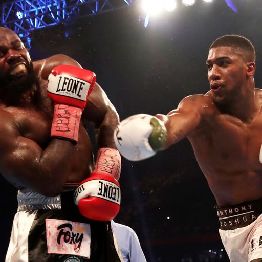Anthony Joshua Says Eddie Hearn Is Talking To Tyson Fury