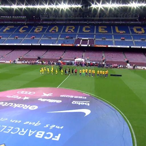 Bartomeu: Empty stadium showed defiance
