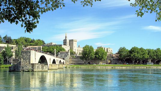 The boat was travelling between Avignon and the river island of Barthelasse