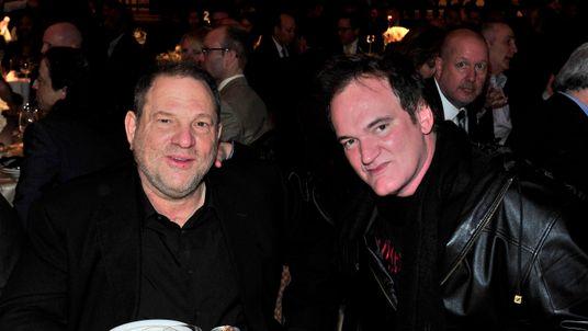 Harvey Weinstein and Quentin Tarantino in 2013
