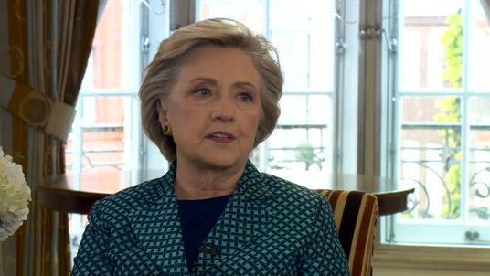 HIllary Clinton on the Andrew Marr show.