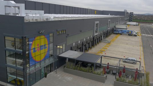 Lidl opened a new distribution centre in Wednesbury in the spring