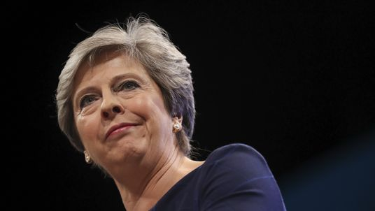 Voters are split on when - if at all - Mrs May should leave her post