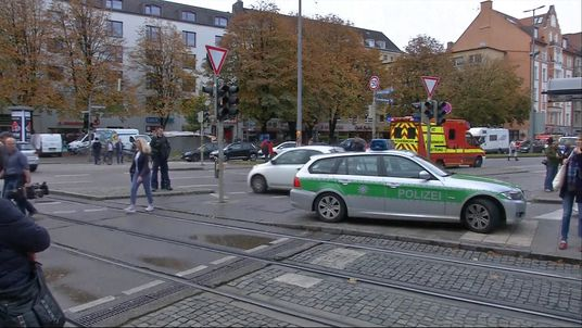 The attack happened in the Rosenheimer Platz area of the city