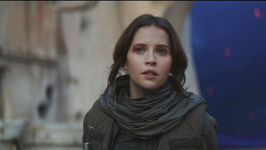Felicity Jones in in Star Wars: Rogue One