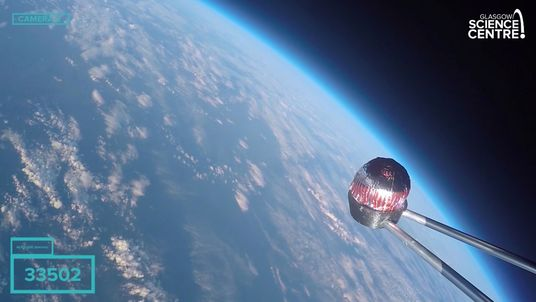 The teacake reached a peak altitude of 37,007m