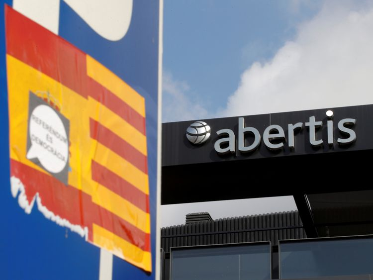 Highway management company Abertis is the latest firm to pull out of Catalonia