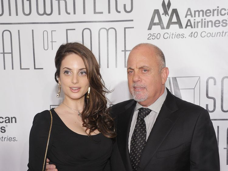 Billy Joel, wife Alexis welcome second daughter