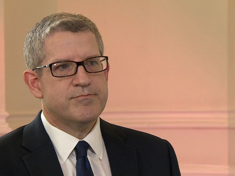 MI5 Director-General Andrew Parker discusses the relationship between technology and terrorism