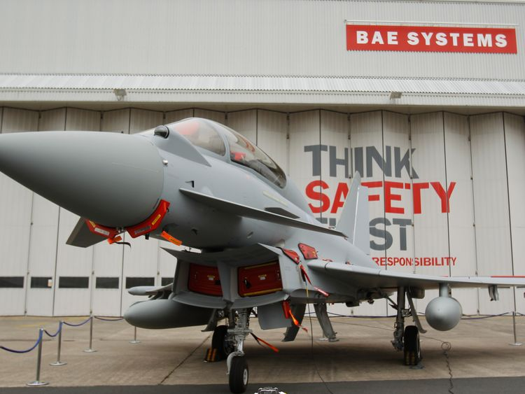 Many of the redundancies are going to be made at BAE's plant in Lancashire