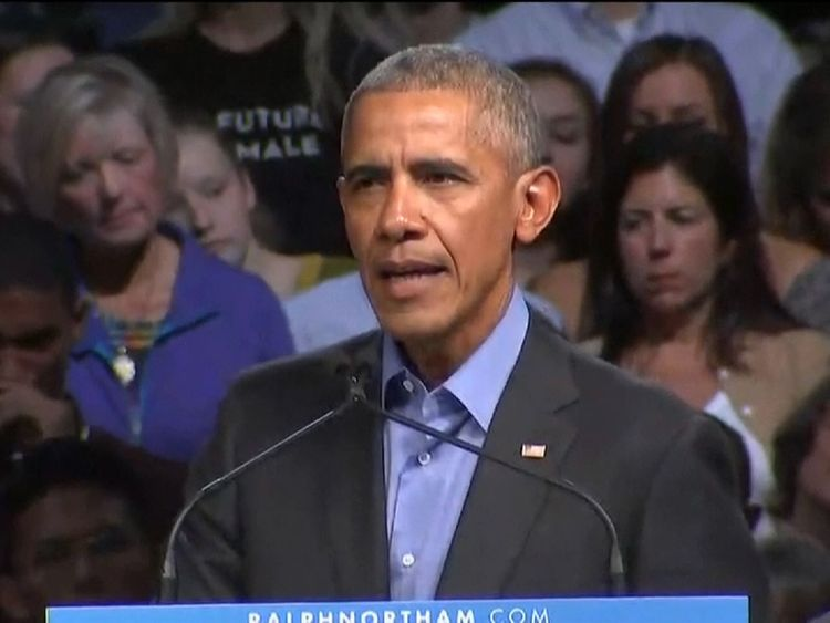Former President Barack Obama breaks his silence on the current state of US politics
