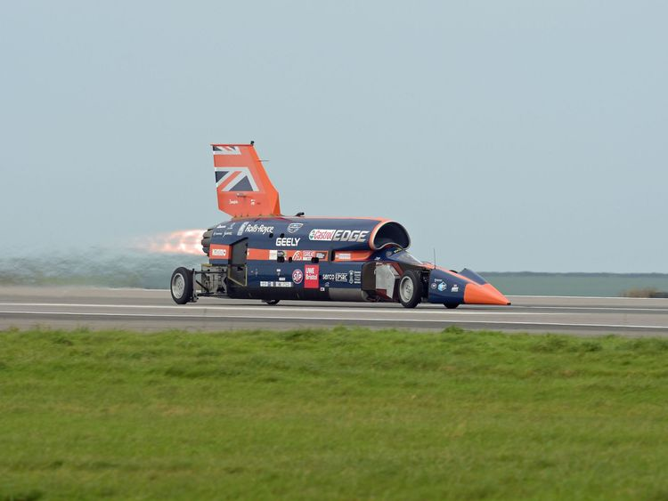 Project to create 1000mph Bloodhound supersonic car scrapped