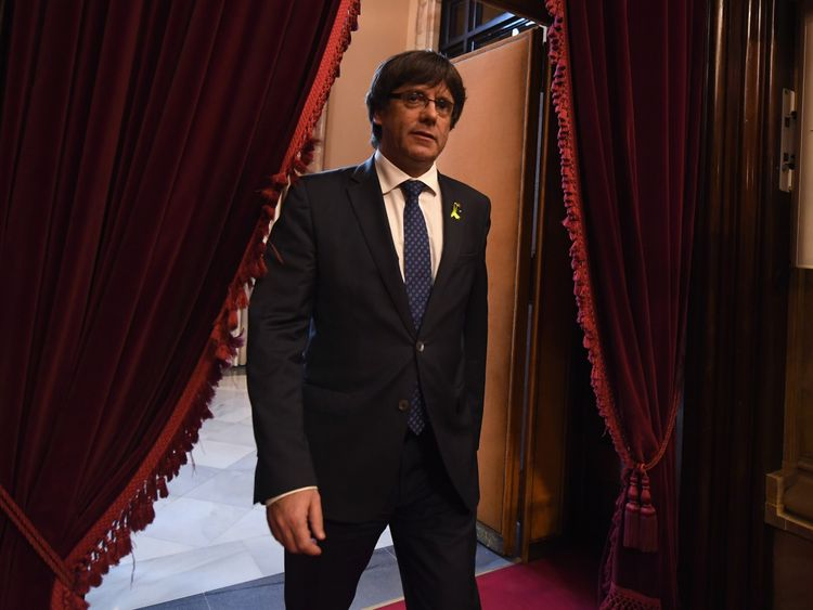 Carles Puigdemont is a former journalist and mayor of Girona