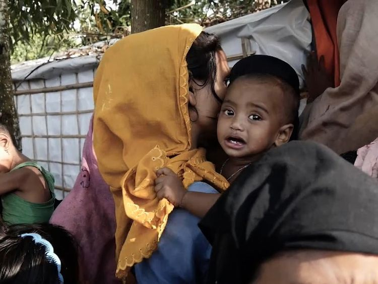 Rohingya crisis: 'This child is in howling pain'