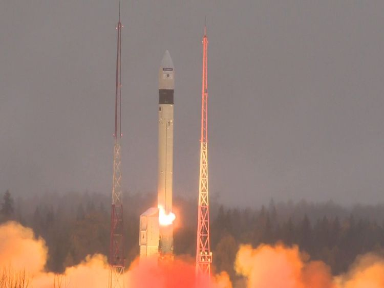 The satellite will map the distribution of harmful gases and aerosols in the atmosphere