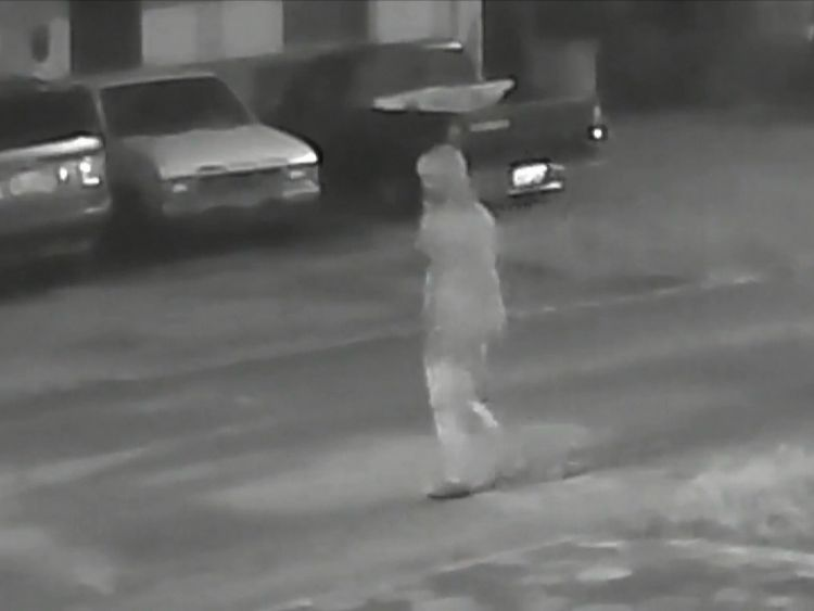 Police have released images of the person they are trying to trace following the murders. Pic: Tampa Police Department