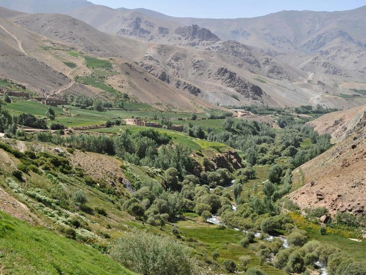 Wardak is the province to the west of the Afghan capital Kabul