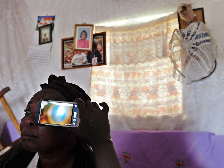 Eyescanning technology could allow tests to reach rural areas