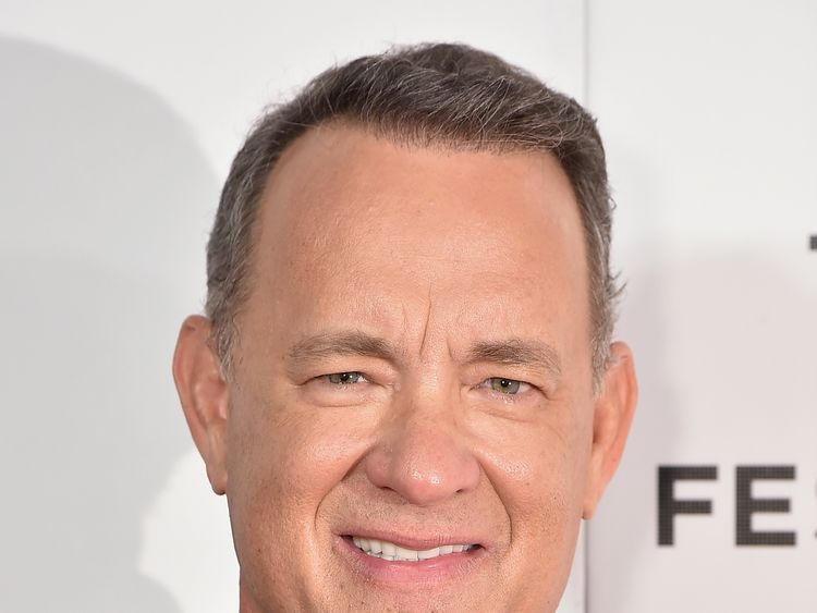 NEW YORK, NY - APRIL 26: Tom Hanks attends The Circle Premiere at the BMCC Tribeca PAC on Apr 26, 2017 in New York City. (Photo by Theo Wargo/Getty Images for Tribeca Film Festival)