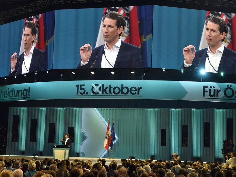 At 31 years old, could Sebastian Kurz be Austria's next chancellor?
