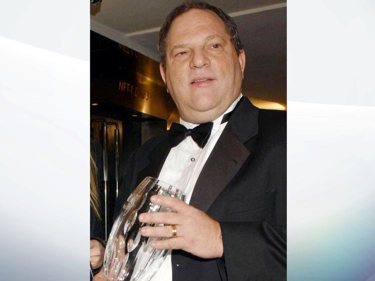 BFI withdraws Harvey Weinstein's fellowship