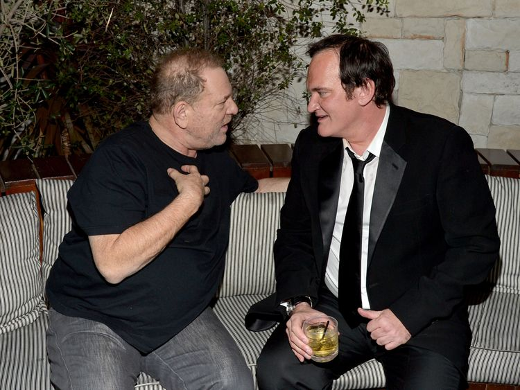 Harvey Weinstein and Quentin Tarantino in 2015