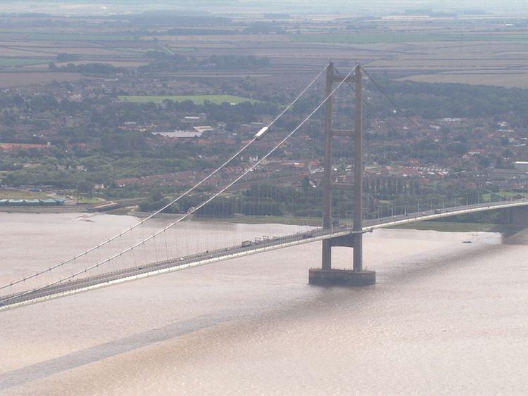 Yorkshire landmarks like the Humber Bridge have listed status