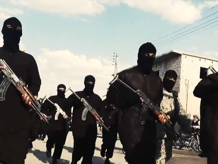 Still from LIB ISLAMIC STATE PROPAGANDA VIDEO SYRIA 220914