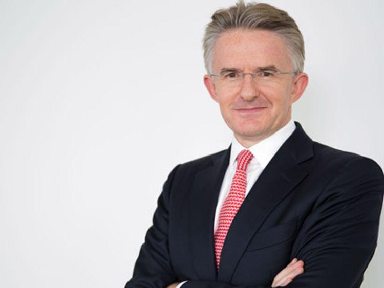 John Flint first joined HSBC in 1989 as an international officer. Pic: HSBC
