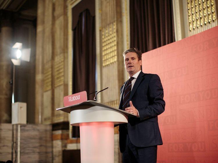 Sir Keir Starmer vowed to work with Tory rebels on Brexit