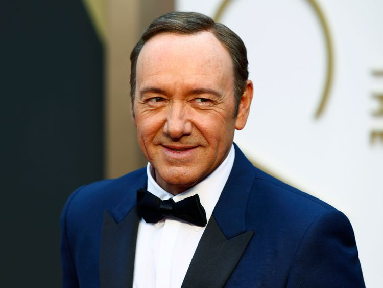 Spacey erased from film as allegations intensify