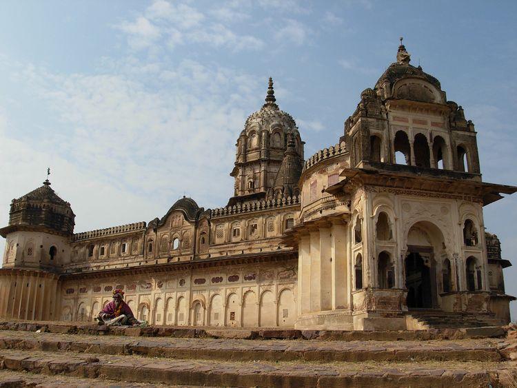 The Laxmi Narayan temple in Orchha, Madhya Pradesh. Pic: Vishaka Jayakumar