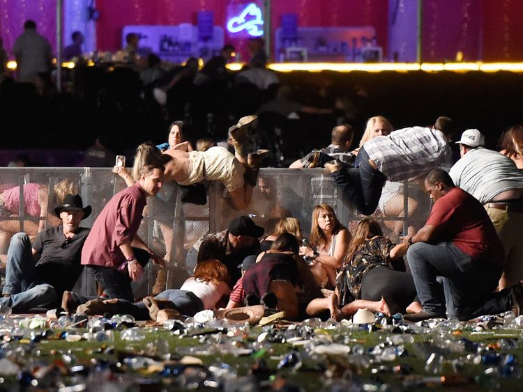 Man Who Saved 30 People During The Las Vegas Concert Shooting