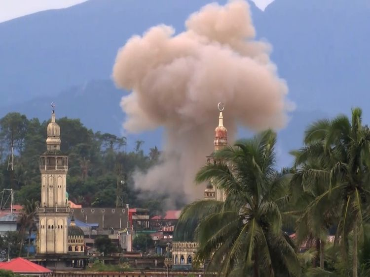 Marawi was the location of five months of bitter fighting between Philippine forces and militants