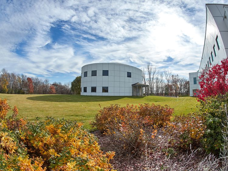 Prince's Paisley Park museum in Chanhassen, Minnesota.
