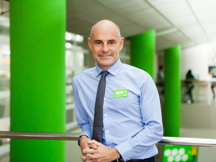 Roger Burnley takes the helm at Asda from January. Pic: Asda