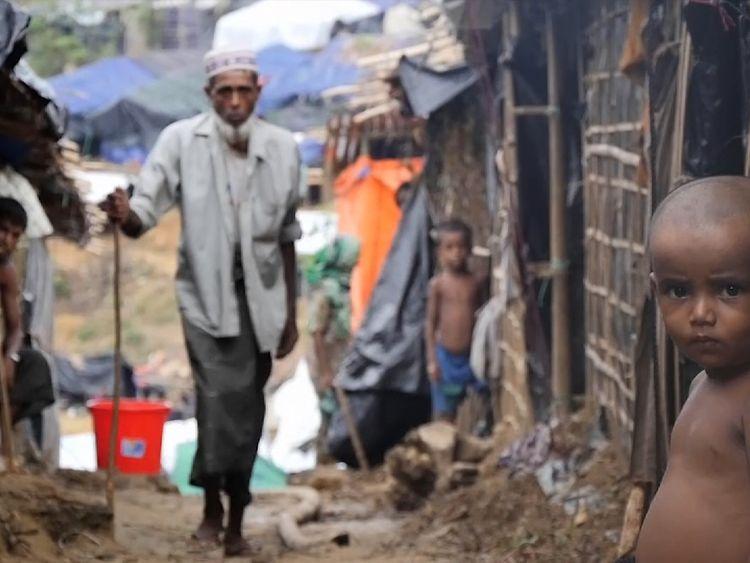 Cox's Bazar refugee camp in Bangladesh