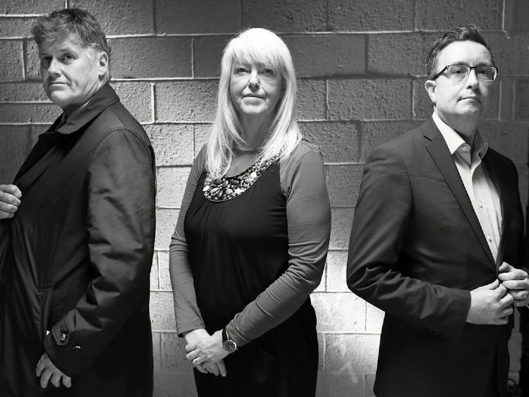 From L-R: Colin Fox, Lesley Riddoch and Kevin Pringle