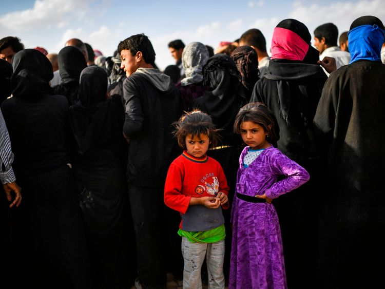 Hundreds of thousands have fled IS in Syria and become refugees
