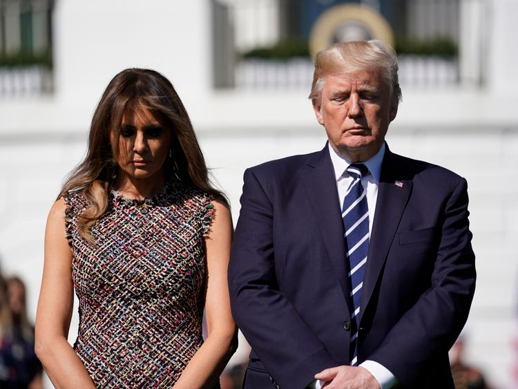 Las Vegas gunman 'sick, demented': Donald Trump