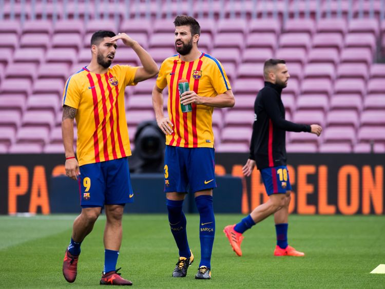Barcelona will not train on Tuesday as the club joins the strike across Catalonia