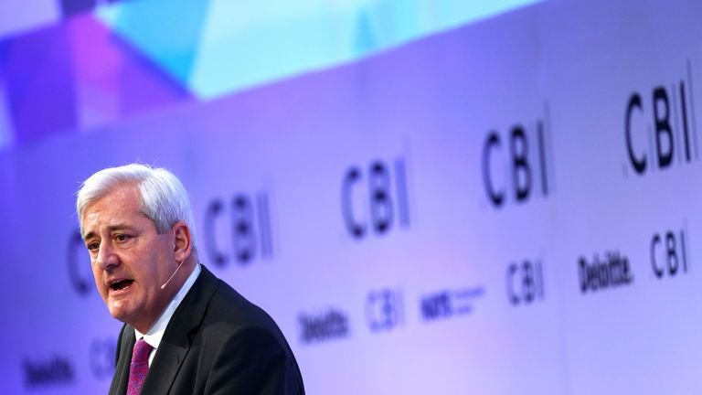 President of the Confederation of British Industry (CBI) Paul Drechsler