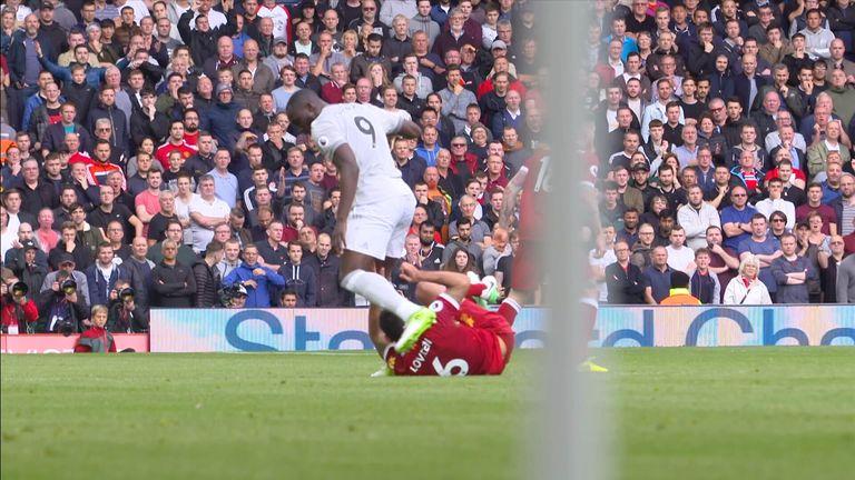 Image result for Liverpool Dejan Lovren accuses Romelu Lukaku of 'stamp' in Anfield goalless draw