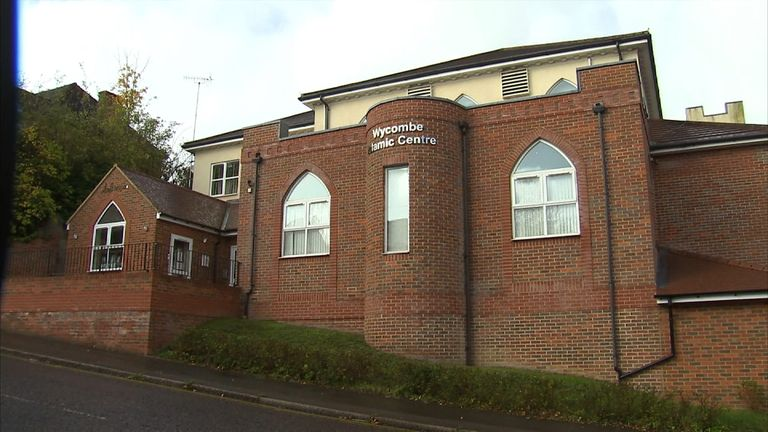 Wycombe Islamic Society mosque, where Abu Sa'eed worshipped
