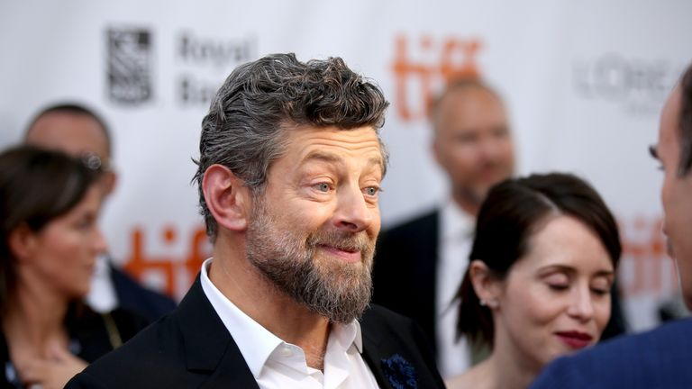Andy Serkis at Breathe's premiere at the Toronto International Film Festival