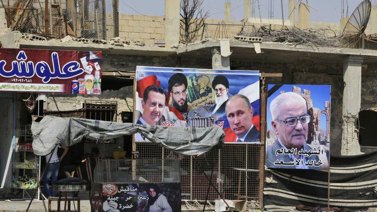Syria's Bashar al Assad is a close ally of Russia'a Vladimir Putin