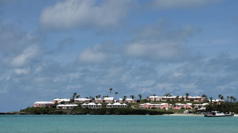 A resort near Long Bay Beach June 22, 2017 in Somerset, Bermuda. / AFP PHOTO / DON EMMERT (Photo credit should read DON EMMERT/AFP/Getty Images)