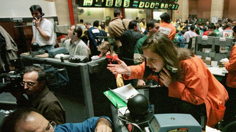 Black Monday triggered weeks of volatility in global markets
