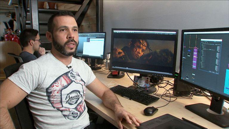 CG Supervisor Manuel Reyes Halaby