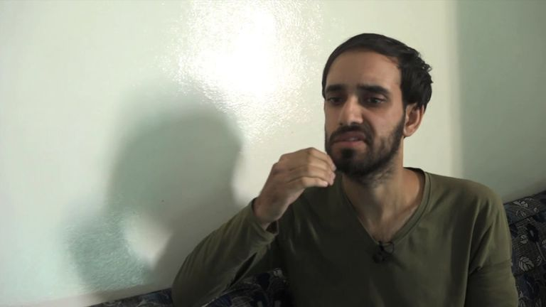 A British Islamic State jihadi interviewed by Sky News